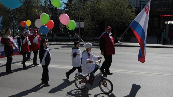 В майские праздники улицу Республики несколько раз перекроют