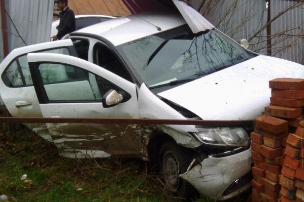 Авария произошла в переулке Туапсинском