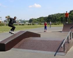 В день города в парке 1000-летия открылась скейт-площадка