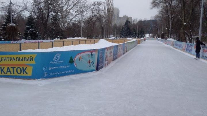 Лёд тронулся: волгоградские катки закрывают сезон