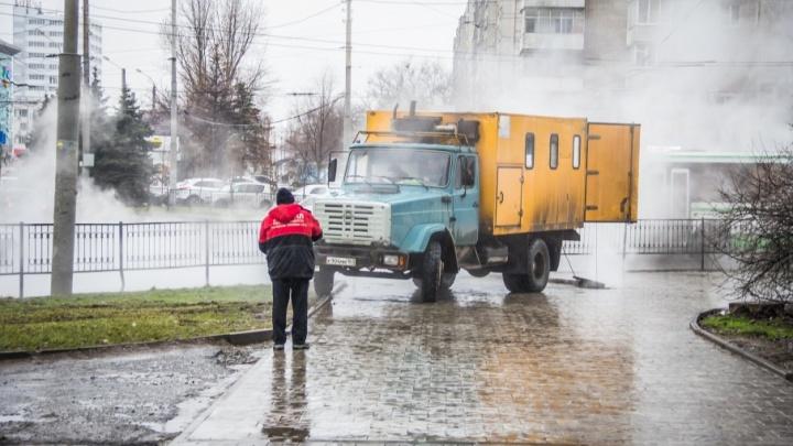 Из-за коммунальной аварии жители пяти районов Ростова остались без воды