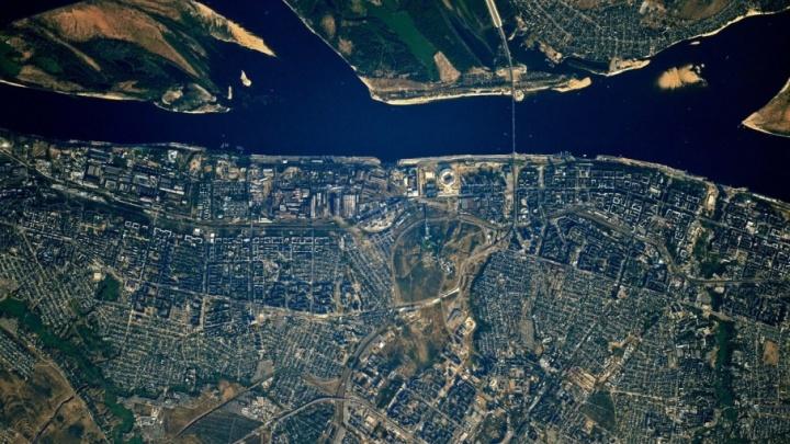 Волгоград и Волжский сфотографировали с космической станции