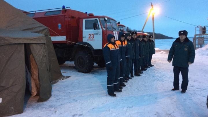 На трассе Самара — Оренбург развернули мобильный пункт обогрева