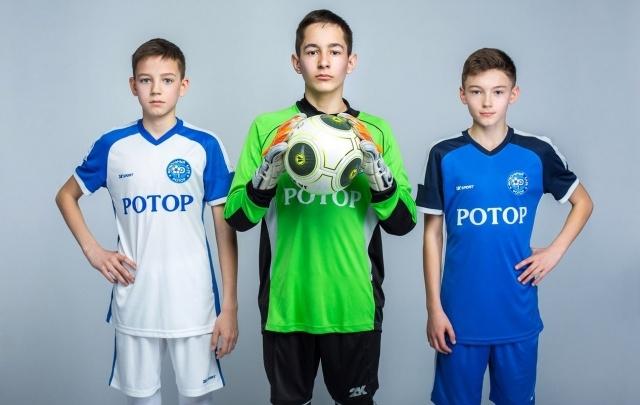 Волгоградская академия «Ротор» презентовала новую форму