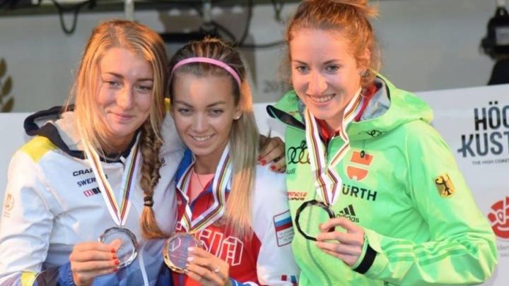 Четыре медали завоевали тюменские спортсмены на чемпионате мира по лыжероллерам в Швеции