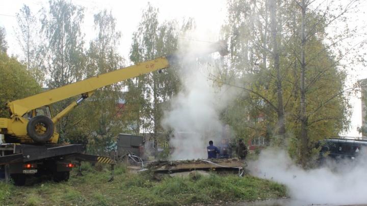 В Ярославской области целый город оставили без отопления