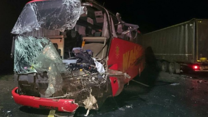 В Ярославской области в ДТП попал автобус с хоккеистами «Локомотива»