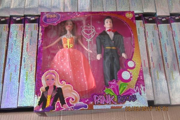 Барби и её приятель оказались ненастоящими.