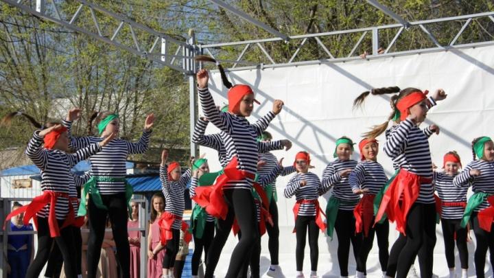 Волгоград превратился в «Танцующий город»