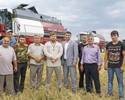 Чеченские аграрии достигают рекордных результатов на технике Ростсельмаш