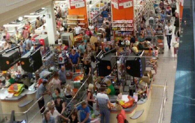Ярославцы атаковали магазин с дешевой едой
