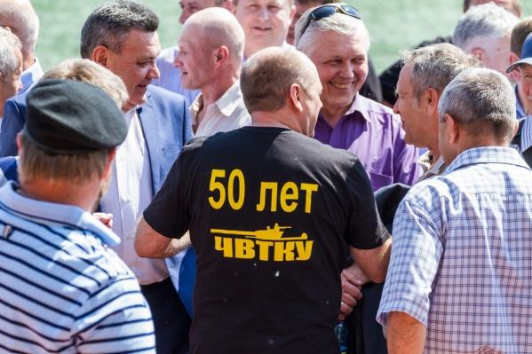 Танкисты со всей России съехались в Челябинск ради юбилея расформированной альма-матер