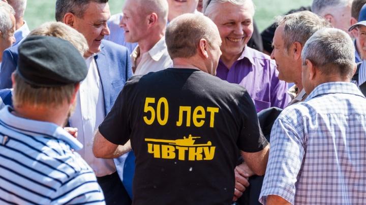 Тысяча офицеров прошли строем на юбилее Челябинского танкового училища