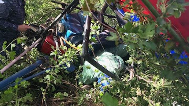 В Волгоградской области в рухнувшем на землю дельталете погиб 53-летний мужчина
