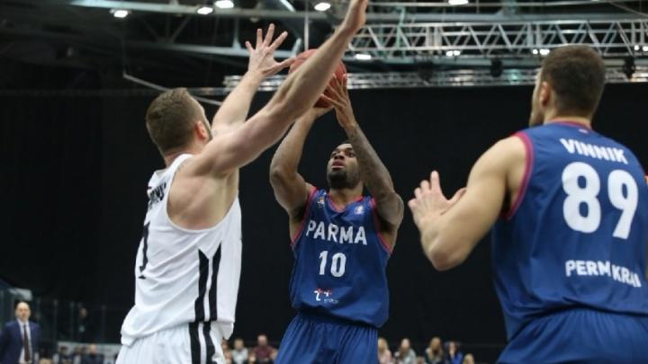 «Парма» одержала третью победу в Единой лиге ВТБ