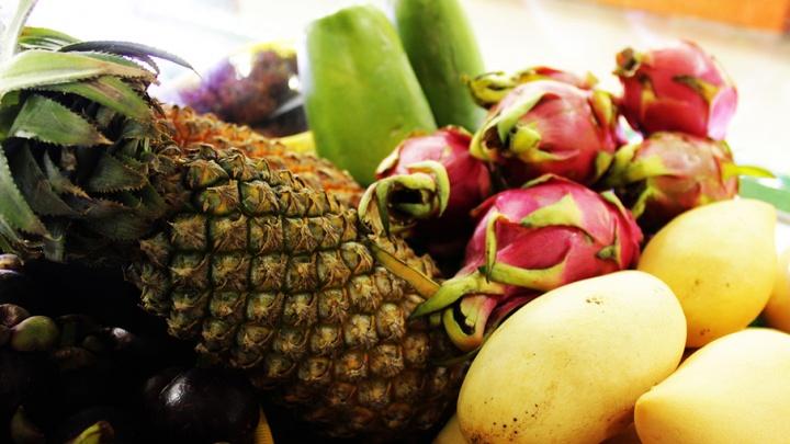 Рамбутаны из Таиланда и папайя из Шри-Ланки: ещё больше экзотики на Центральном рынке