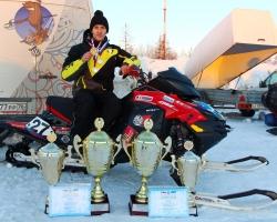 Спортсмены СТК «Атлант» возглавили рейтинг снегоходчиков России