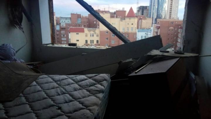 Выгорела кухня: появились фото квартиры на Садовой, где взорвался бытовой газ