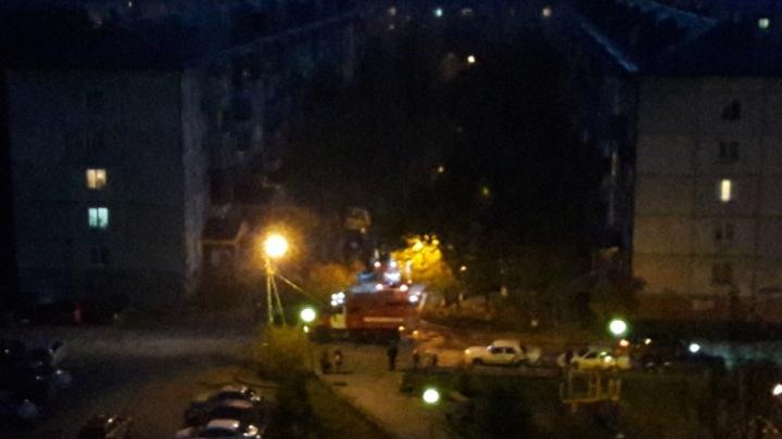 На пожаре в доме в Ткацком проезде пострадал ребенок
