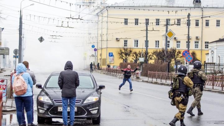 Дым, досмотры, пробки, оцепление: антитеррористическая операция в Ярославле в режиме онлайн