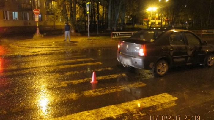 В Новодвинске под колеса иномарки попала женщина-пешеход