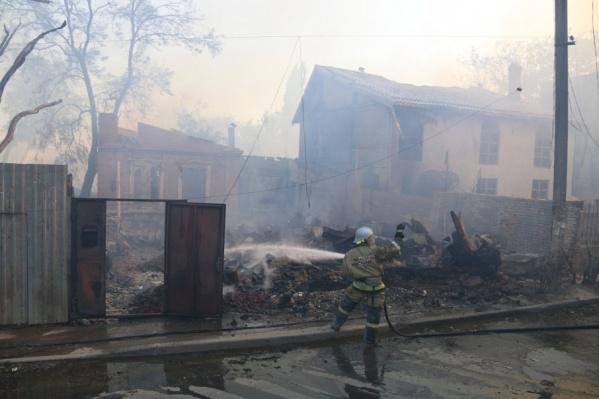 На месте сгоревших домов появятся школа и детский сад