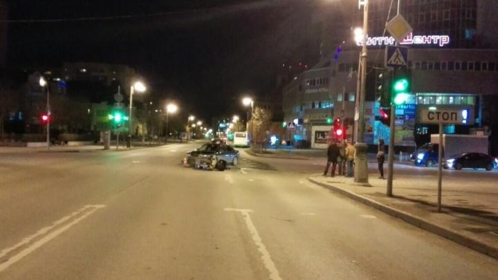 Села в  Аudi, проехала несколько метров и сбила мотоциклиста: в Тюмени будут судить 36-летнюю автомобилистку