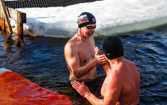 Достижение тюменских моржей официально признано новым рекордом России