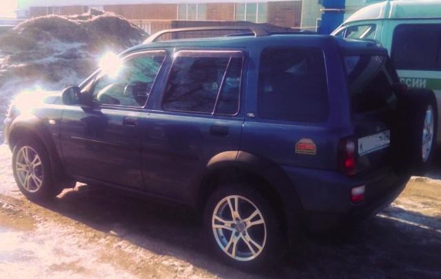 Приставы арестовали Land Rover после тест-драйва в Челябинске