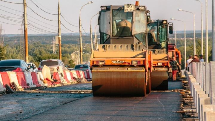 В Самарской области компания выплатила налоги после ареста дорожного катка