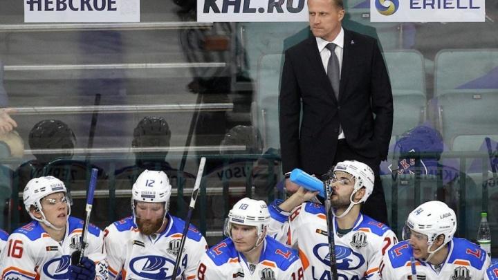 «Мы снова нашли способ, как проиграть»: «Лада» уступила столичному «Динамо» в матче КХЛ