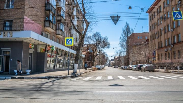 Представители мэрии Самары предложили заменить газоны в старой части города на «карманы» для парковки