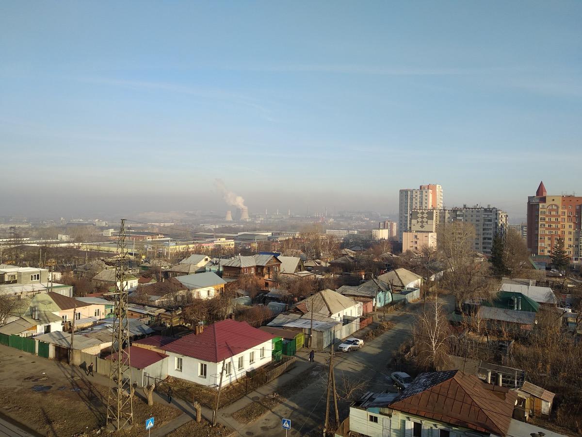 Вид с улицы Косарева на ЧМЗ