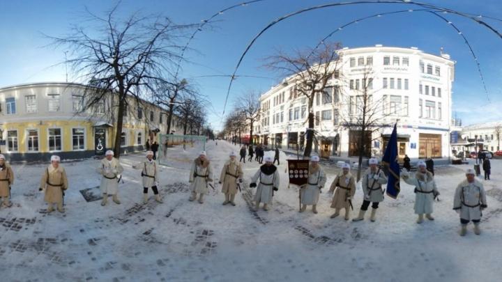 Охранять спокойствие ярославцев на Масленицу будут гвардейцы