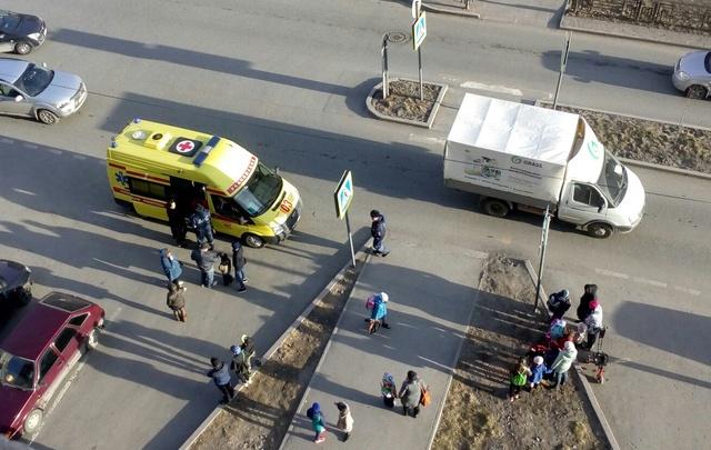 На Лесобазе на пешеходном переходе сбили девятилетнего школьника