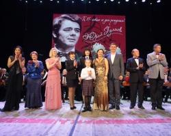 В Тюмени состоялся концерт памяти Юрия Гуляева