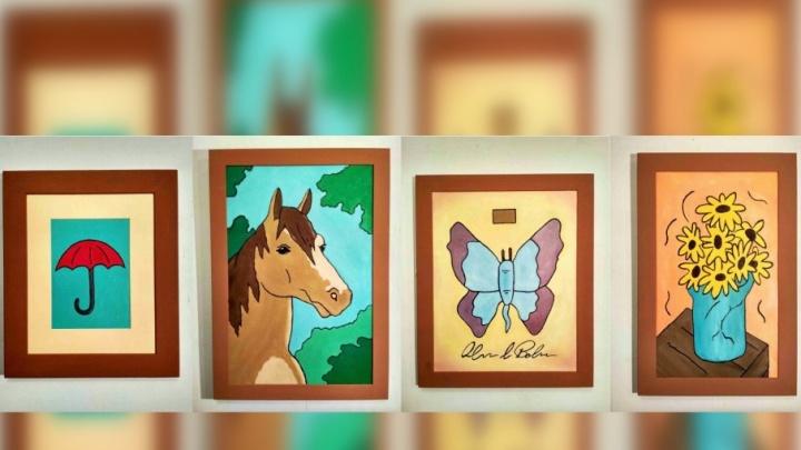 Пермский художник Sad Face нарисовал картины из мультфильма «Рик и Морти» и выставил их на аукцион