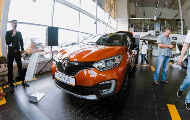 Волга Раст показал Волгограду Renault Kaptur