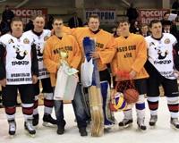 В Челябинске завершен традиционный хоккейный турнир «Золотая шайба»