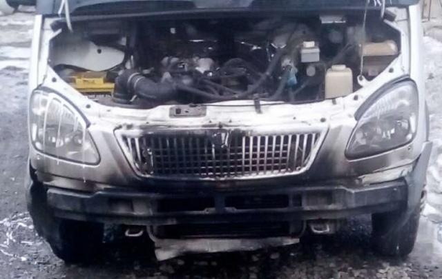 В Челябинске четвероклассники подпалили грузовую «газель» и киоск