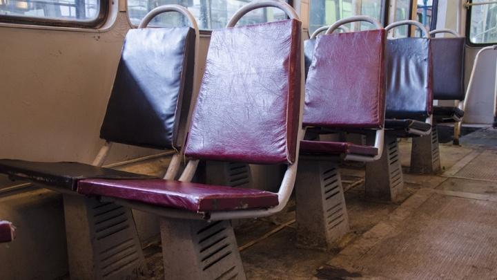 В челябинских трамваях включат подогрев сидений и тепловые пушки, не дожидаясь холодов