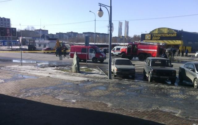 На углу Харьковской и Пермякова во время раскопок повредили газовую трубу