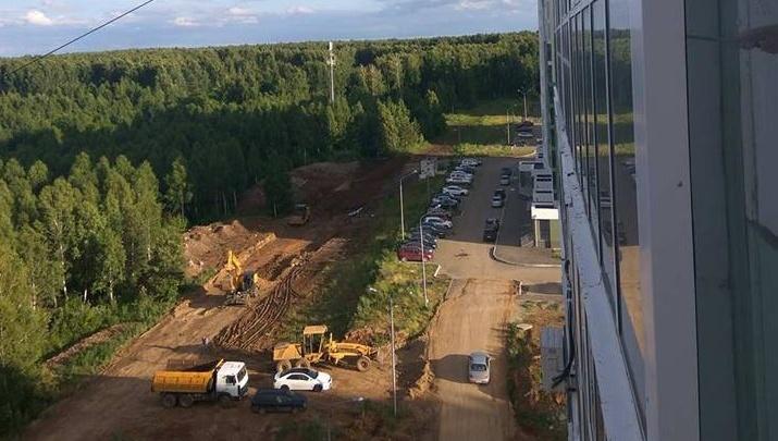 После жалобы полпреду президента в челябинском микрорайоне началось строительство дороги