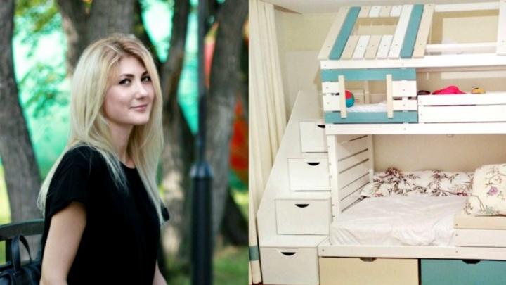 Бизнес в декрете: история тюменки, которая создаёт кроватки-домики для малышей со всей России