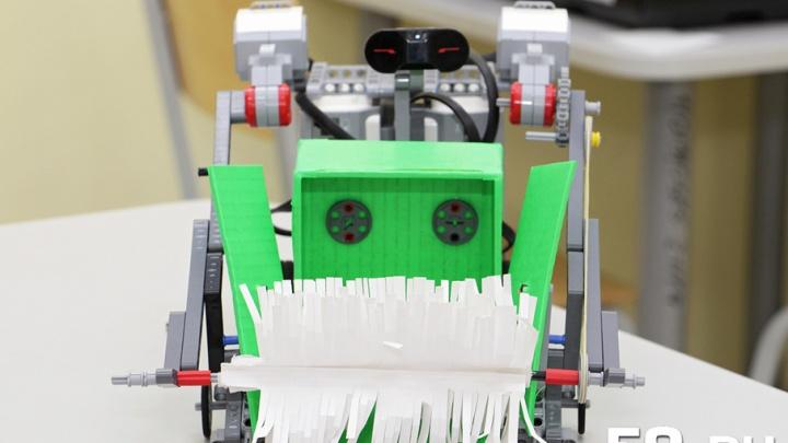 Сам собирает, сортирует и вывозит мусор: пермский девятиклассник придумал робота-дворника