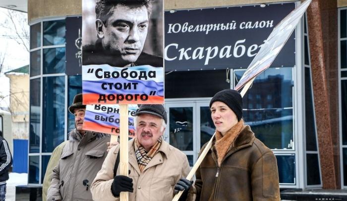 В Архангельске подали заявку на проведение митинга памяти Бориса Немцова