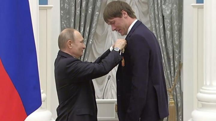 Тольяттинец Василий Кошечкин получил орден Дружбы за золото на Олимпиаде и BMW в подарок