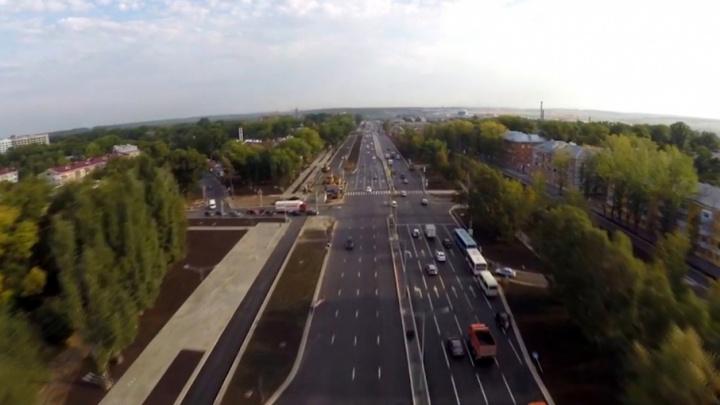 От «Метро»  до Мехзавода: как выглядит обновленное Московское шоссе с воздуха
