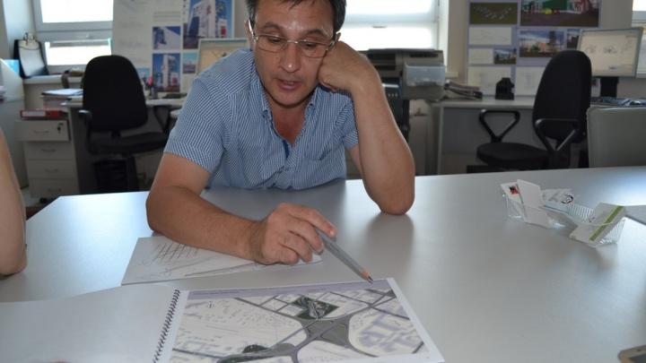 Тюменские проектировщики предлагают построить у развязки на Мориса Тореза велосипедно-пешеходный мост