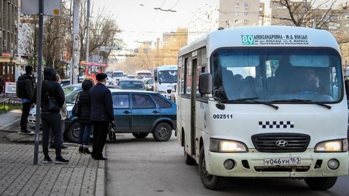 С ростовских улиц уберут только половину маршруток